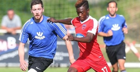 Ghana youth midfielder David Atanga thrilled with debut pre-season goal