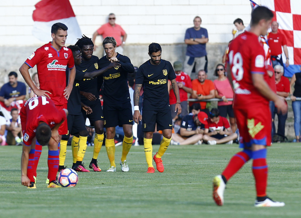 Bernard Mensah debuts for Atletico Madrid in win over Numancia