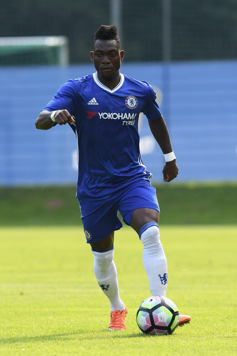 Christian Atsu fighting for his Chelsea career in Pre-season