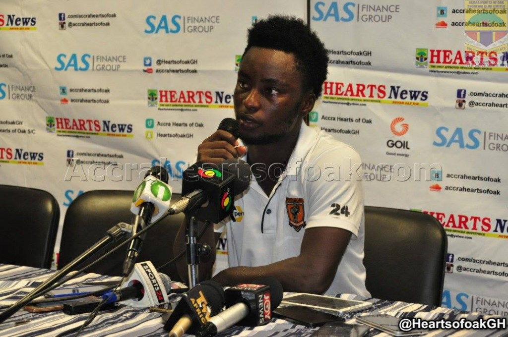 AshGold's Emmanuel Osei Baffour named Man of the Match in Hearts draw