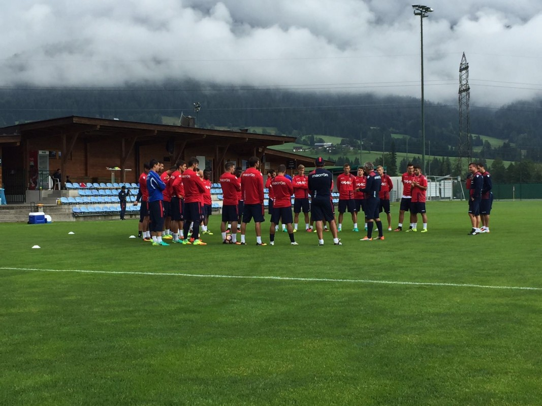 Godfred Donsah part of Bologna squad in Austria for pre season training