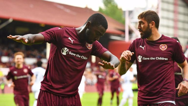 Europa League: Prince Buaben scores as Hearts beat Ofosu Appiah and Haminu Dramani's Infonet