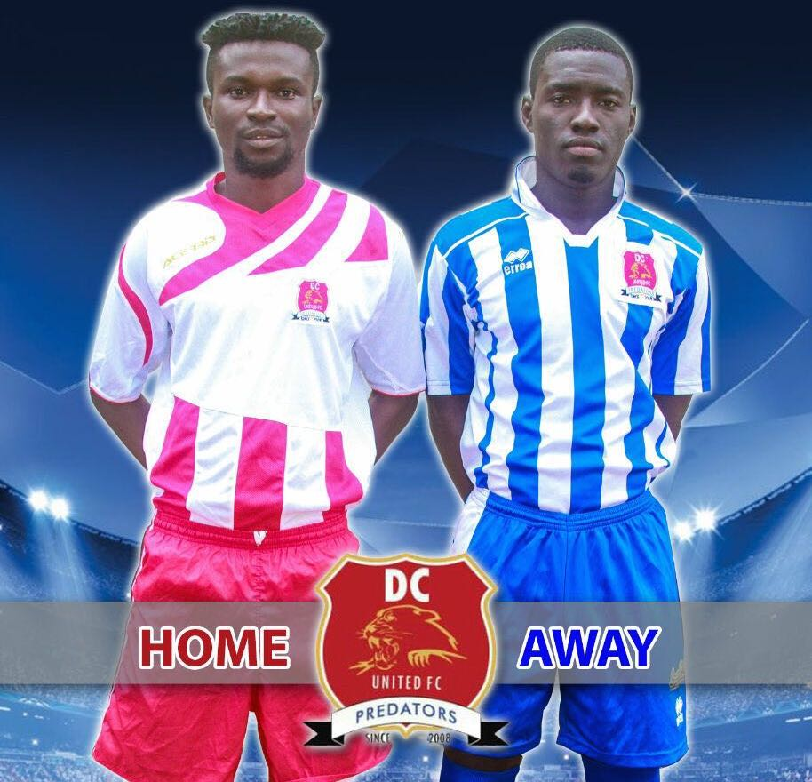 DC United unveil jerseys for Brong Ahafo Division Two League