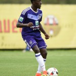 Recovered French-born Anderlecht Ghanaian defender Dennis Appiah grateful to club supporters