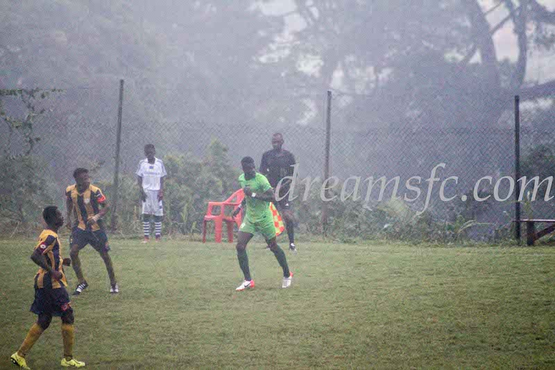 Dreams FC's home-grown talent Maxwell Arthur delighted with league debut
