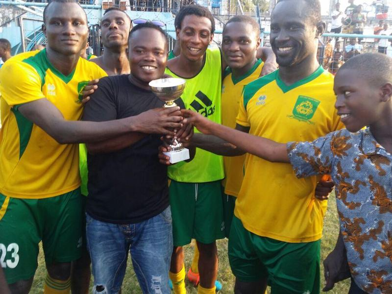 Ebusua Dwarfs thrash Vipers to win 'local' President Cup