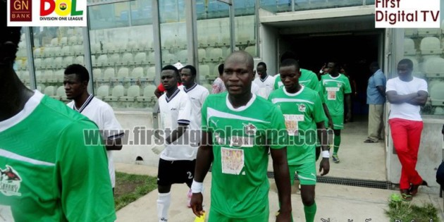 Elmina Sharks a point away from historic Ghana Premier League qualification