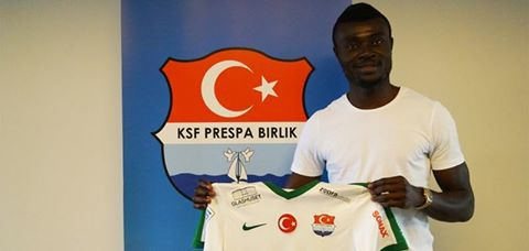 Swedish second-tier side Prespa Birlik sign Emmanuel Okine