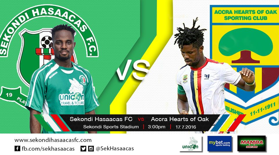 Re-live the Ghana Premier League LIVE play-by-play: Hasaacas 0-1 Hearts of Oak