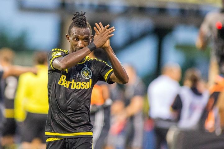 VIDEO: Watch Harrison Afful tackle which earned him the RED card against DC United
