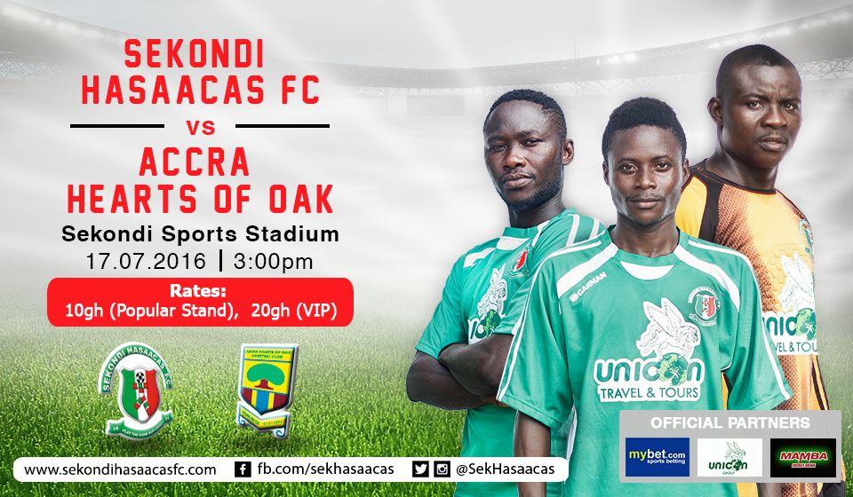 Sekondi Hasaacas start massive publicity for Hearts of Oak visit