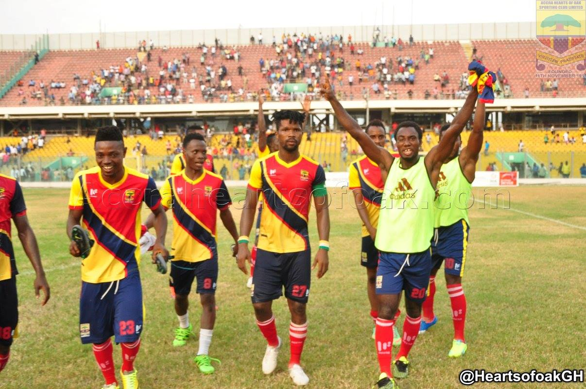 Ghana Premier League- Preview: Hearts of Oak vs AshantiGold- Cosmos Dauda back to boost Phobians against Miners