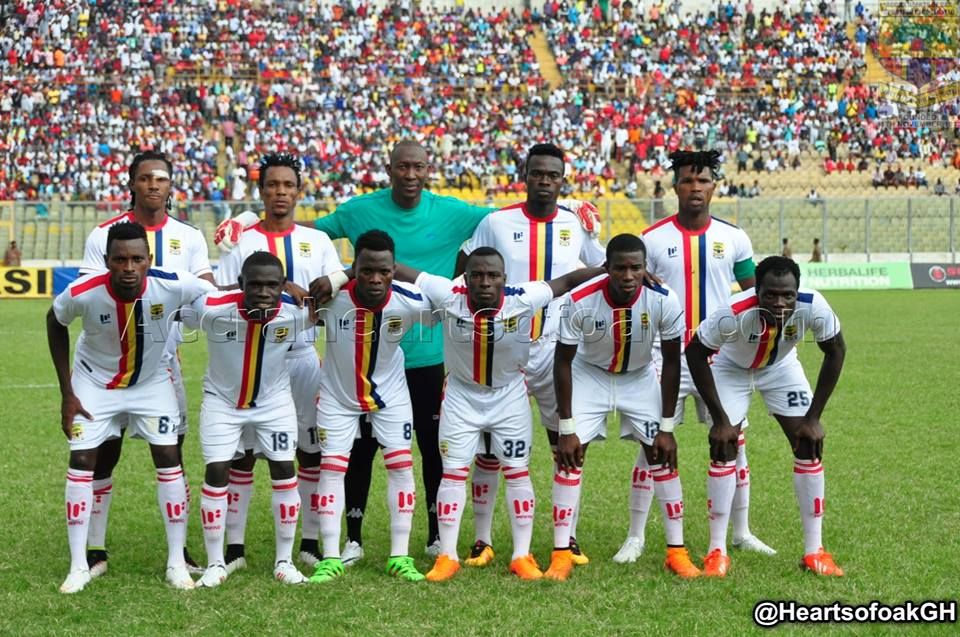 Match Report: Hearts of Oak 1-1 AshGold- Ten man Hearts of Oak fail to pick up maximum points at home