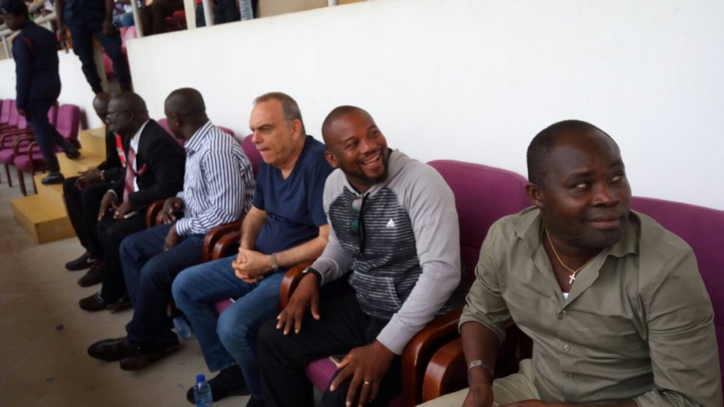 CAF CONFEDERATION CUP: Black Stars coach Avram Grant watched Medeama's 3-1 lashing of Yanga FC