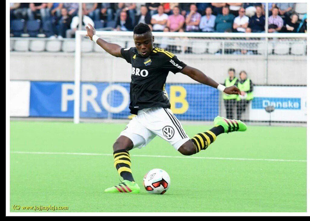 Impressive Patrick Kpozo hailed in AIK victory over Hammarby in Swedish league
