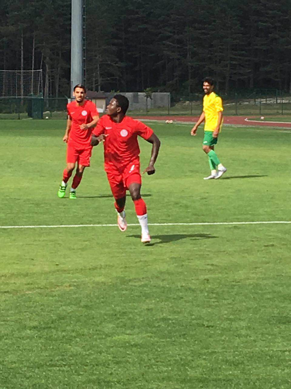 Ghana international Samuel Inkoom helps Antalyaspor to a pre-season win