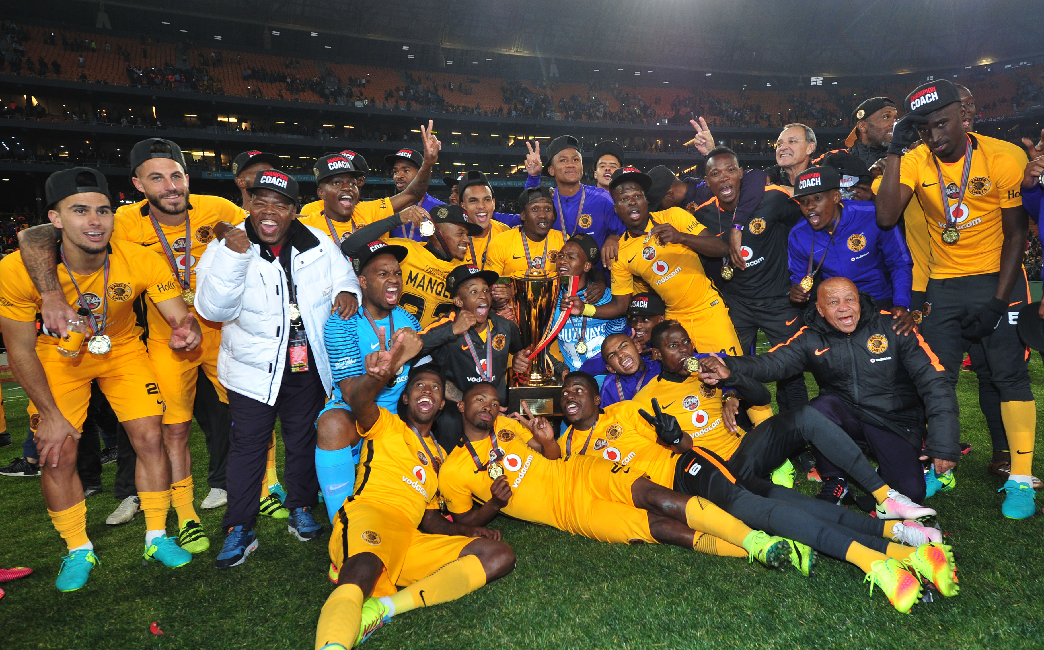 Kaizer Chiefs: Assistant Coach John Paintsil Wins First Silverware With