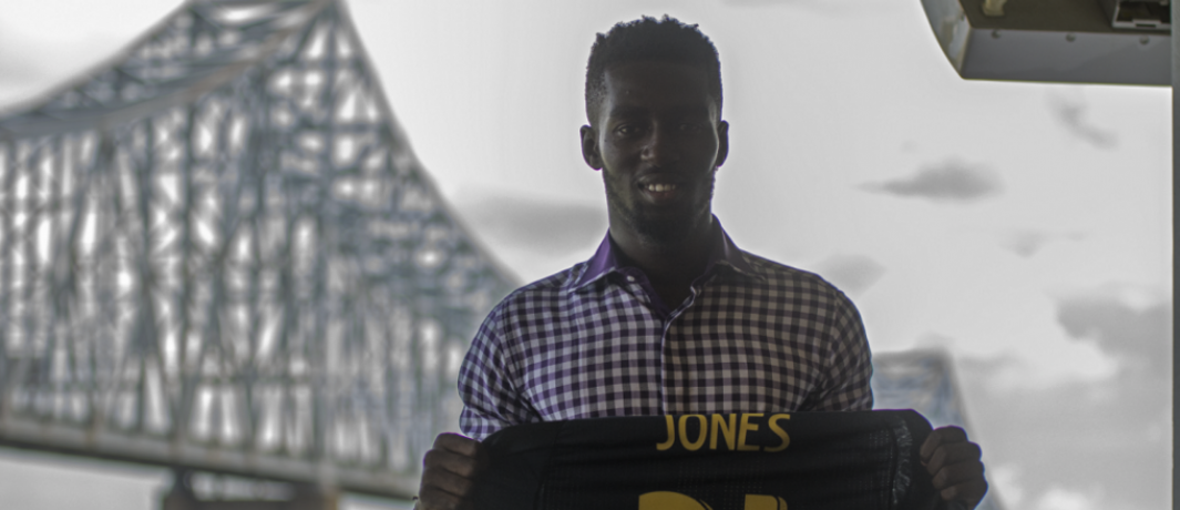 The story of newly signed MLS forward Derrick Jones