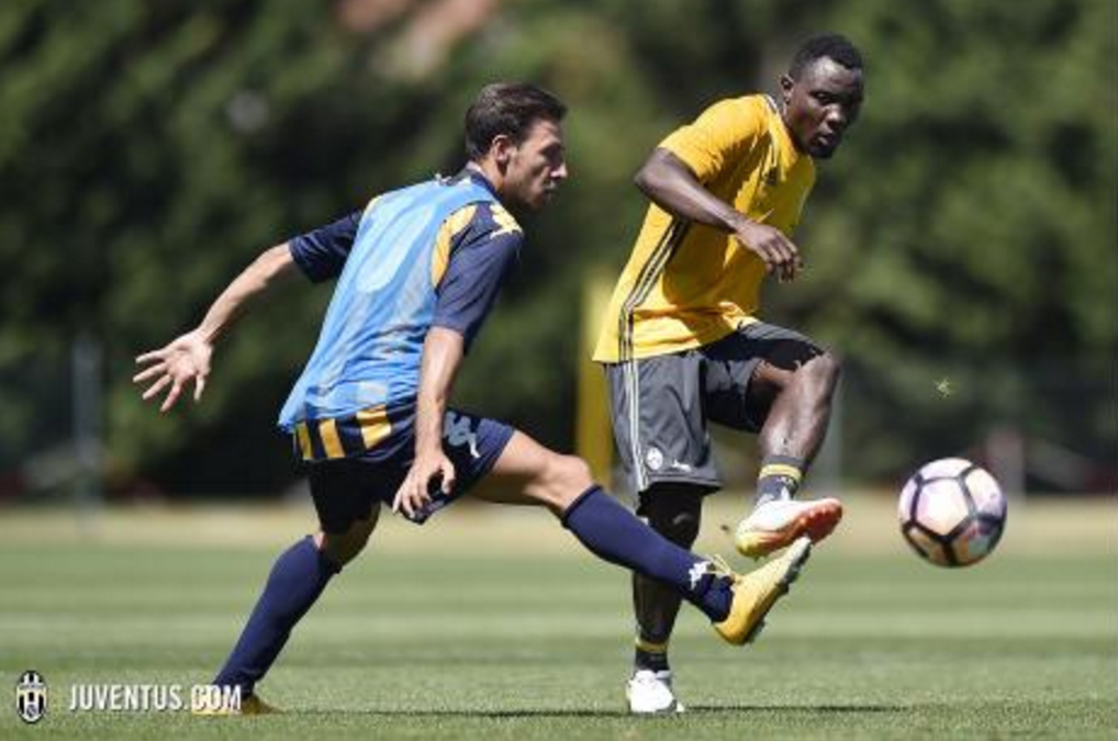 VIDEO: Watch Kwadwo Asamoah's goal for Juventus in training match