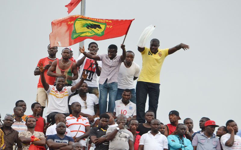 Asante Kotoko made GH¢ 345,000 at gates against Hearts in Kumasi