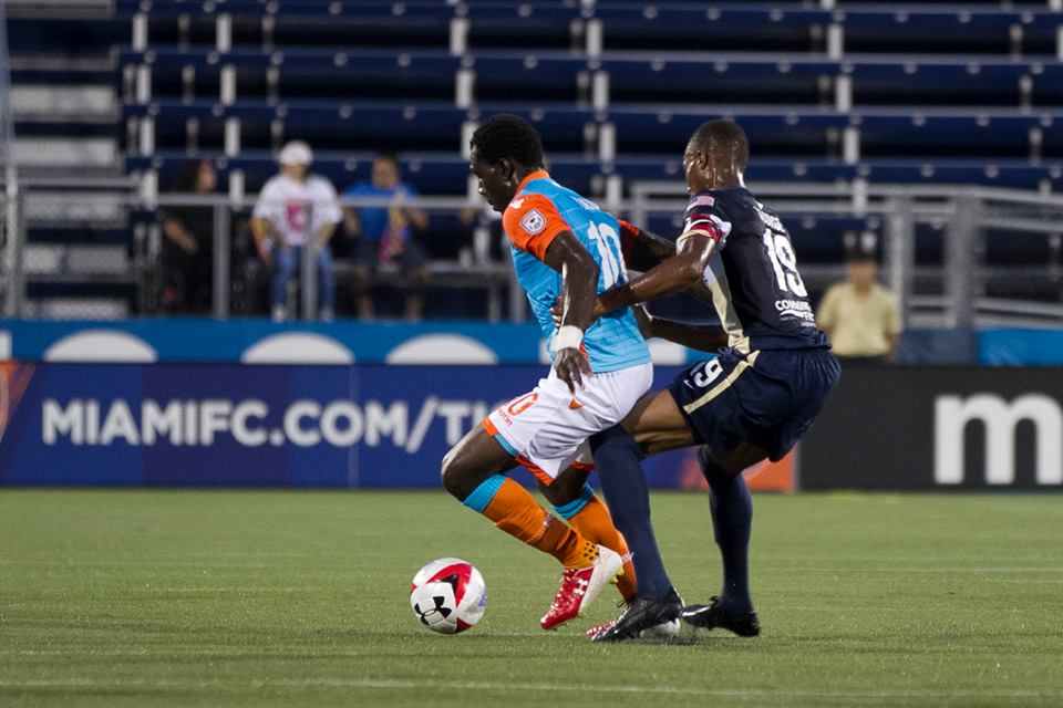Ghanaian midfielder Kwadwo Poku scores in Miami FC entertaining stalemate in USA