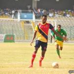 Midfielder Leonard Tawiah open to Hearts of Oak return