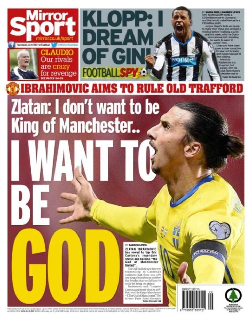 Today's newspaper gossip: Leicester want £45m for Mahrez, Sakho staying at West Ham