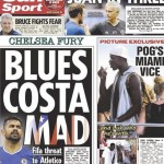 Today's newspaper gossip: Man United submit £86m bid for Pogba; Stoke City chase Barahino