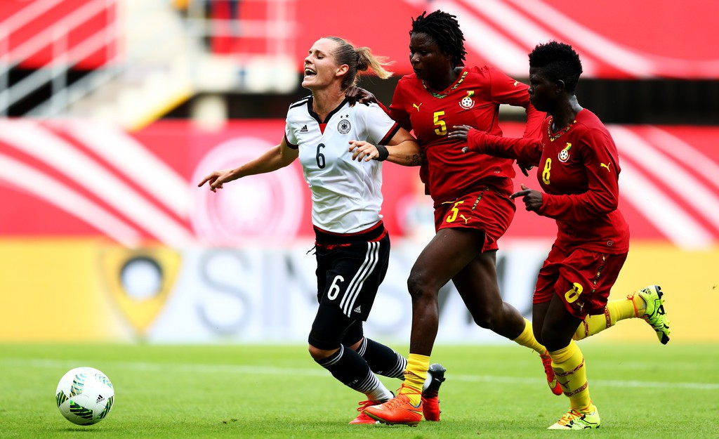 Ghana's 11-0 defeat to Germany's women was good - Linear Addy
