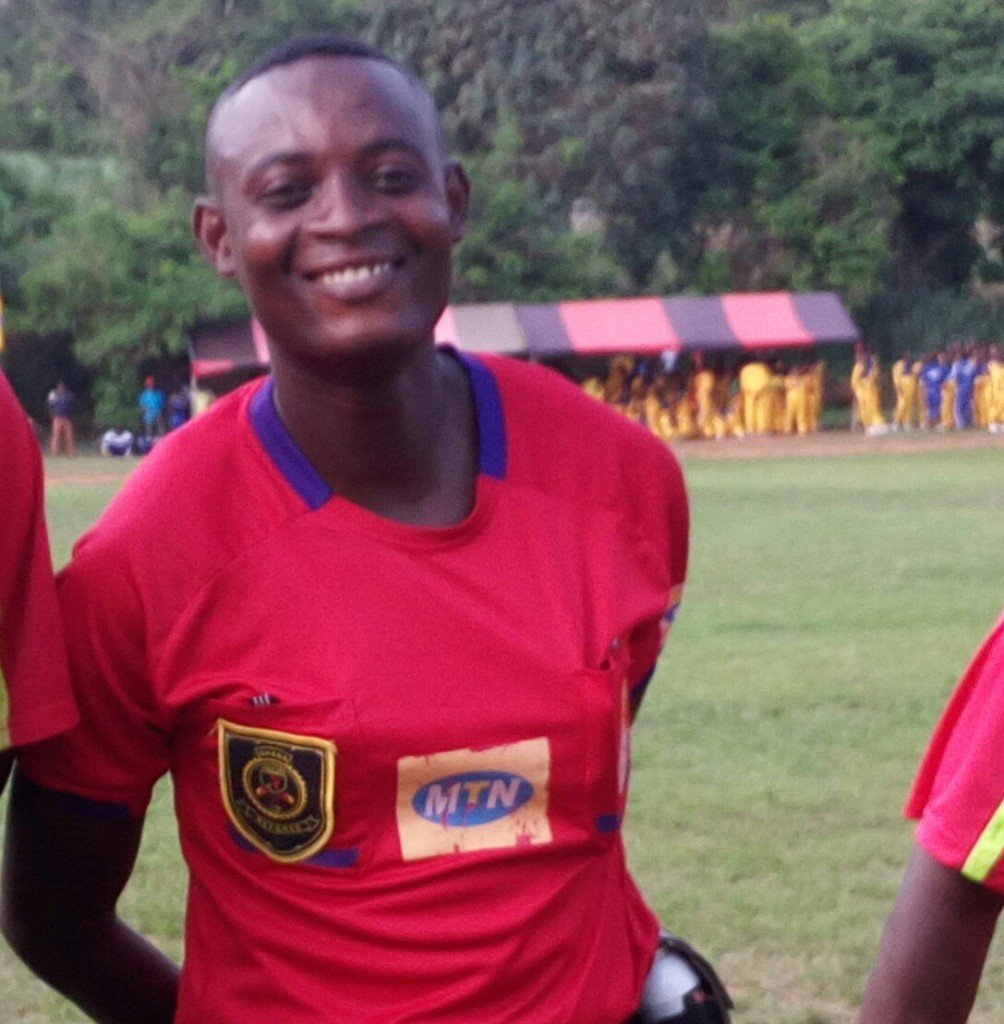 Ghana FA mourns Premier League referee's death; clubs to observe minute silence