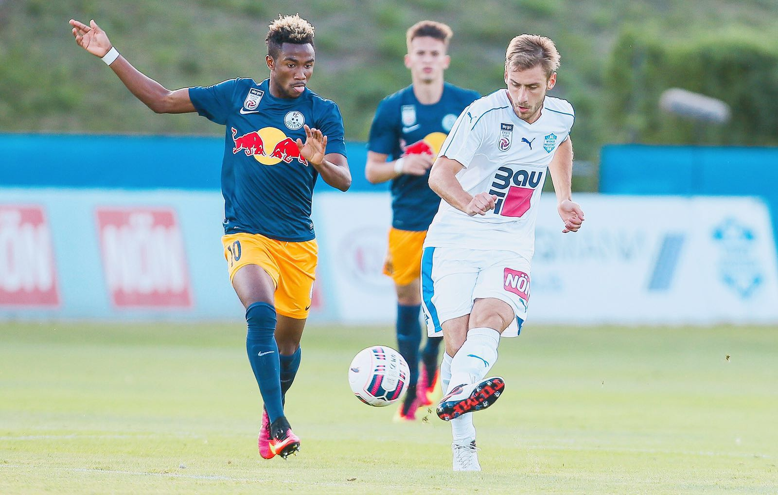 PHOTOS: Ghana attacker Samuel Tetteh opens scoring account in Austrian second-tier league