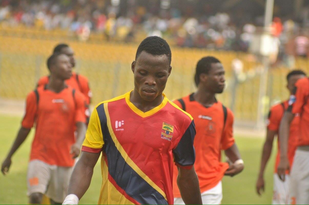 Is Samudeen Ibrahim fast becoming a liability to Hearts of Oak ?