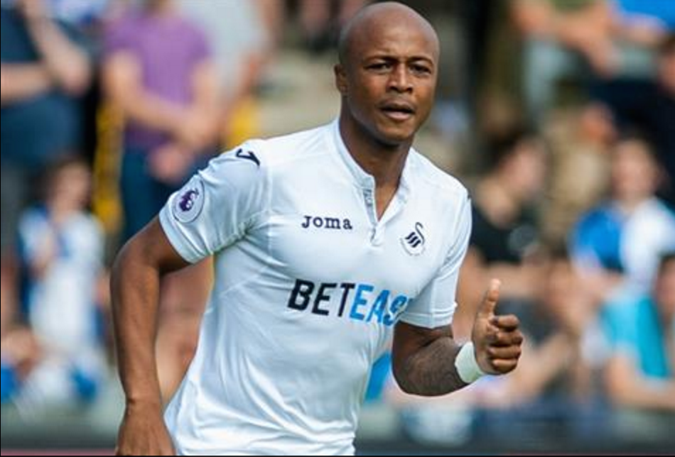 Swansea City manager delighted as Andre Ayew thrives as No.9