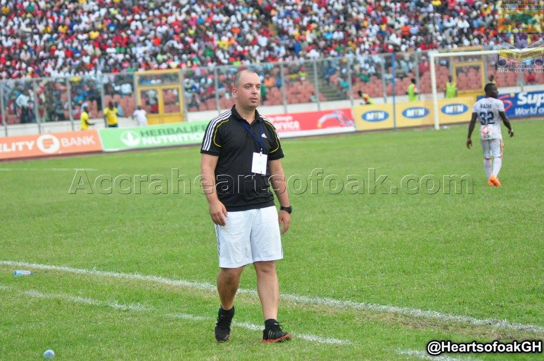 We deserved to win- Hearts coach Sergio Traguil