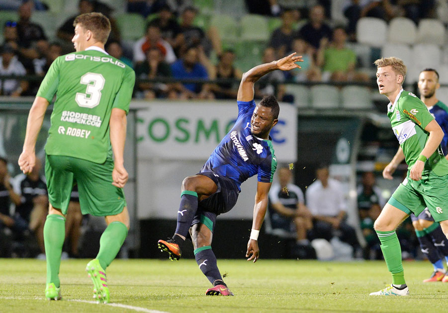Mubarak Wakaso debuts for Panathinaikos in impressive preseason win