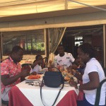 PHOTOS: Afriyie Acquah spends off days with family of agent in Italy