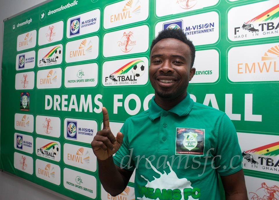Dreams FC star Anorbaah hopes to flourish against former side Medeama