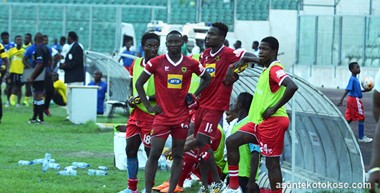 Match Report: New Edubiase 2-1 Asante Kotoko - Bottom club inflict more misery on Porcupines -