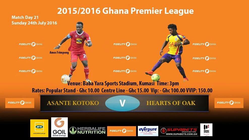 Ghana Premier League LIVE play-by-play: Asante Kotoko - Hearts of Oak