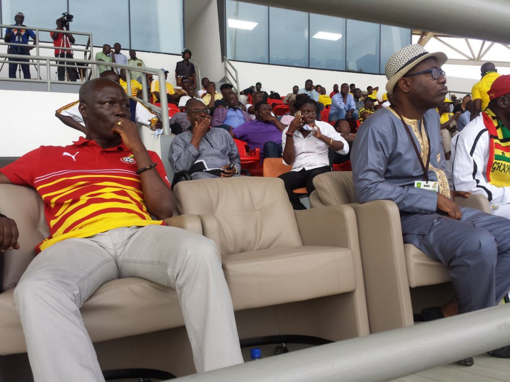 Sports Minister Nii Lante refutes friction claims with Nyantakyi, insists they are not enemies