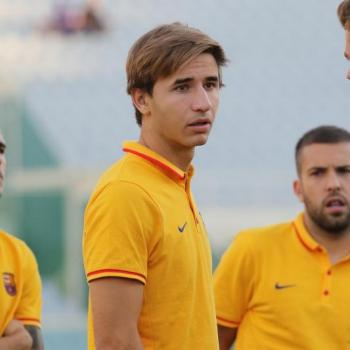 BARCELONA FC - Sergi Samper joining GRANADA on loan