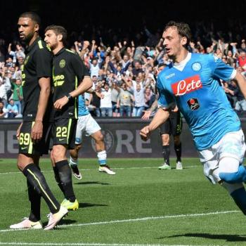 NAPOLI's striker Gabbiadini's agent travels to England to negotiate with EVERTON