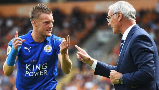 Fox in the Box Jamie Vardy Will Return to 'Frightening' Goalscoring Form Insists Claudio Ranieri