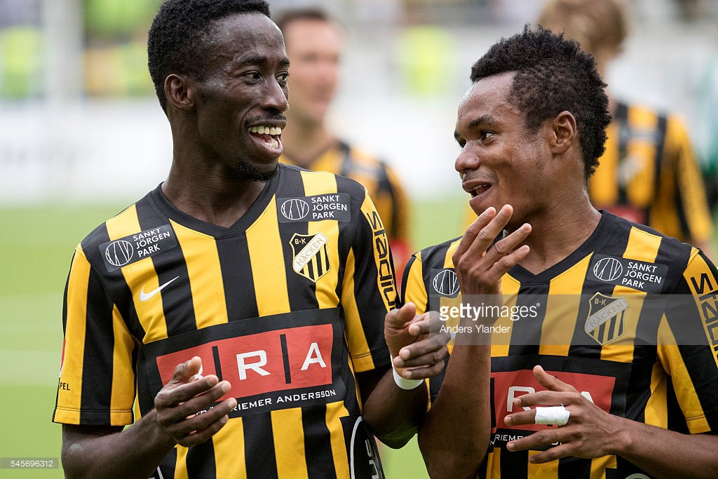 Ghanaian attacker Nasiru Mohammed scores to inspire BK Hacken to vital win in Sweden