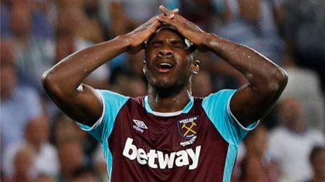 Andre Ayew's West Ham United shockingly eliminated from Europa League by unfancied Romanian side