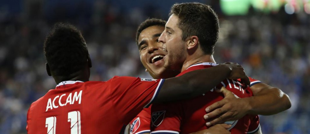 Ghana striker David Accam scores in Chicago Fire draw with LA Galaxy