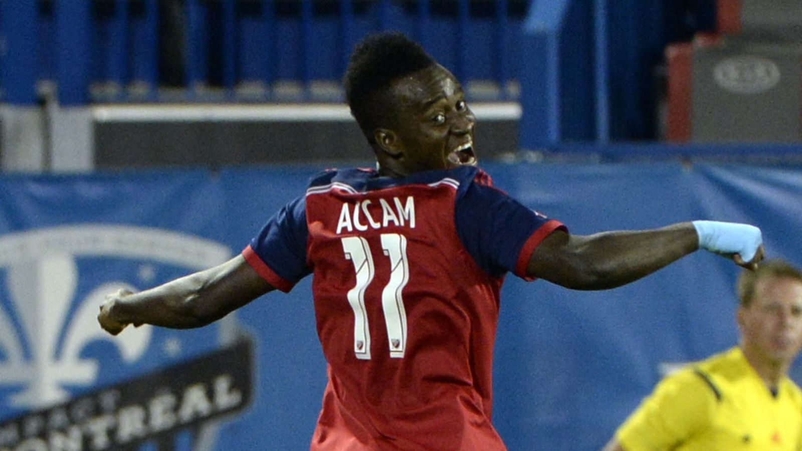 VIDEO: Watch David Accam's consolation goal for Chicago Fire in US Open Cup final semis defeat
