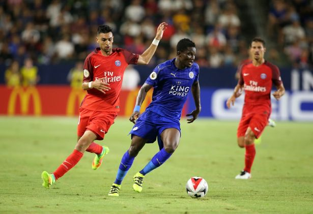VIDEO: Watch Ghana defender Daniel Amartey give away a penalty in Leicester City 4-0 pre-season loss to PSG