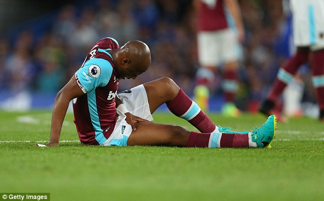 Ghana FA Technical Director Oti Akenteng insists Andre Ayew must fly back home for treatment