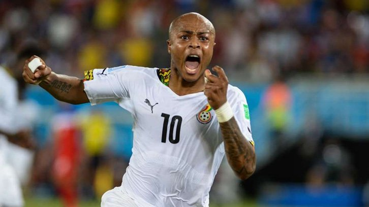 South Africans hail Andre Ayew over patriotic Black Stars air ticket gesture